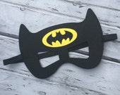 Layered Batman Felt Mask  Batman Mask Superhero Mask Birthday Mask