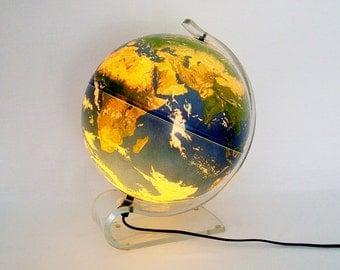 Beautiful Illuminated Planet Earth by Krent/Paffett/Teifert made in Denmark