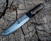 Hand forged Bushcraft knife made to order
