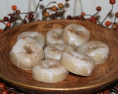 New - GLAZED CINNAMON DONUTS Scented Primitive Mini Donuts Wax Tarts Melts Bowl Fillers8 pk