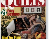 McCalls Quick Quilt Magazine Fall/Holiday 1997