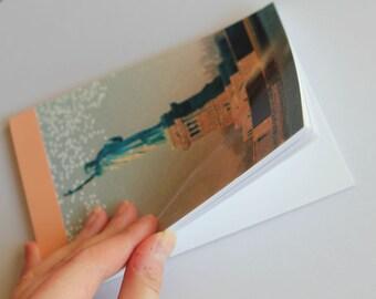 Notebook/Sketchbook/Journal - 4x6 - Statue of Liberty - Original Photograph