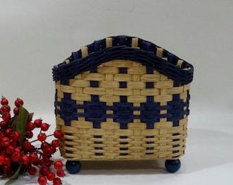 Napkin Basket / Table Top Basket /Handwoven Basket