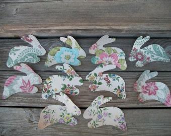 Vintage Wallpaper, Bunnies