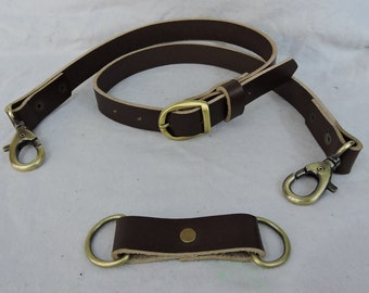 Black or Brown Economy Sporran Belt, Casual or Formal