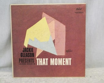 Jackie Gleason LP Record, That Moment, Capitol Records
