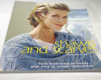 Book - Shawls and Scarves - Patterns from Knitters