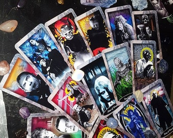 The Vintage Horror Tarot Deck