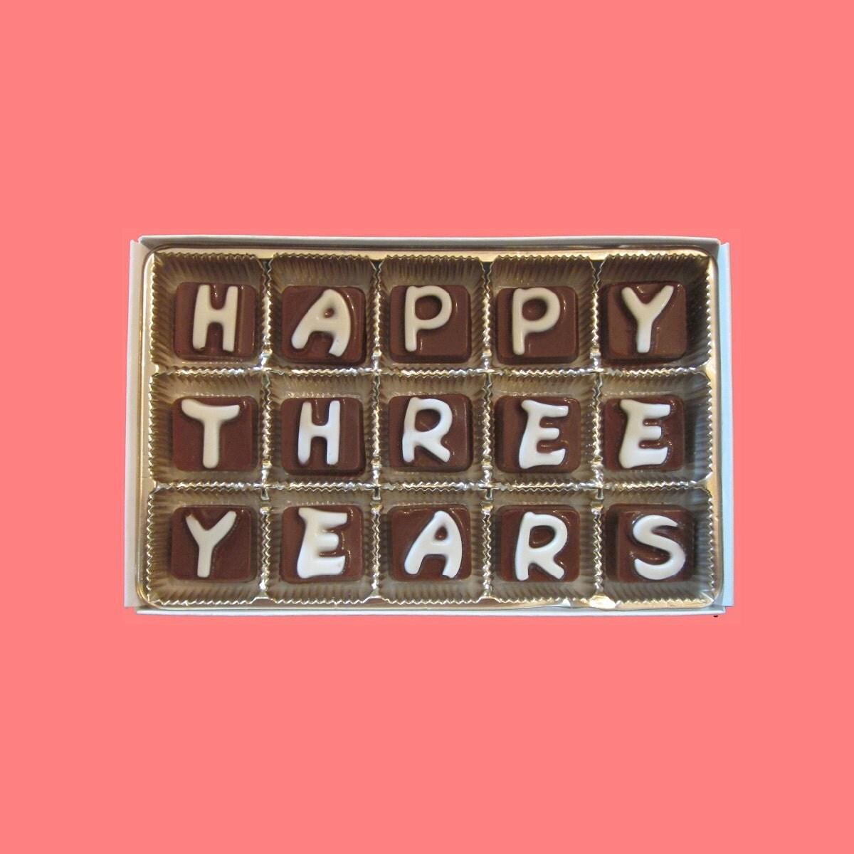 3rd anniversary card | Etsy