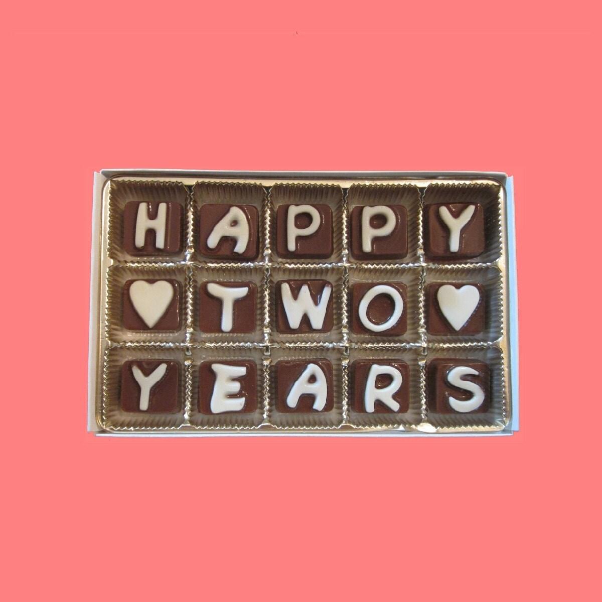 2 Year Anniversary Gift: Second 2nd Anniversary Gift For BF Boyfriend Girlfriend
