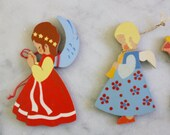 RESERVED 3  Wooden Ornaments