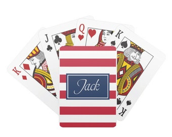 Personalized Playing Cards - New Couple Gift - Groomsmen Gifts, Engagement Gift, Custom Deck of Cards