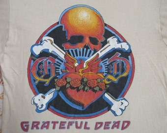 GRATEFUL DEAD 1981 tour T SHIRT