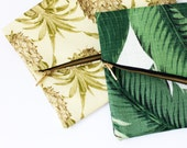 Banana Leaf Clutch- Pineapple Clutch