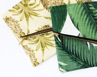 Banana Leaf Clutch- Pineapple Clutch