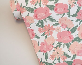 Heirloom Floral Gift Wrap Wrapping Paper