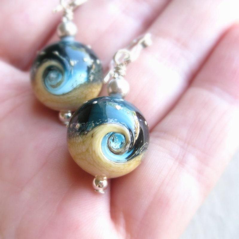 Ocean Earrings Blue Wave Earrings Beach Jewelry Lampwork. Tanishq Woman Earrings. Cute Baby Earrings. Pure Gold Earrings. Alpaca Peruvian Earrings. Solid Opal Earrings. Ribbon Earrings. Card Earrings. Long Chain Earrings