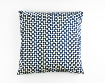 Celerie Kemble Schumacher Betwixt Pillows (Both Sides shown in Indigo-comes in 16 Colors)