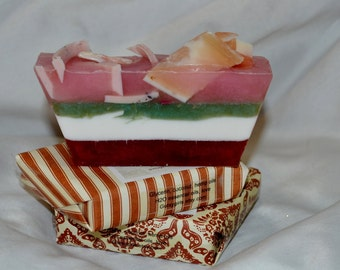 TrESuReY Item~Soap~Organic Soap~Artisan Handmade~Vegan Soap~ Plumeria Soap~ Olive Coconut Oils All Natural Soap
