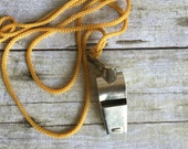 Vintage Metal Whistle