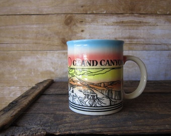 Retro Grand Canyon  Mug - Arizona Mug