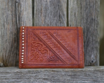 1960's Leather Folded Wallet