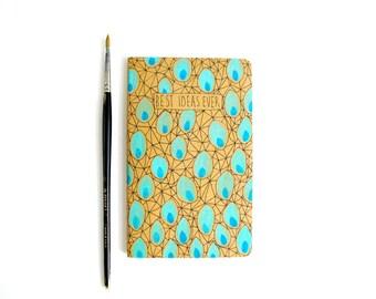 Cute Christmas gift notebooks, Stocking Stuffer Moleskine notebook, Small gift, Moleskin journal, Pocket notebook, Blank journal Writer gift