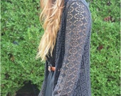Free people beach warwick crochet jacket