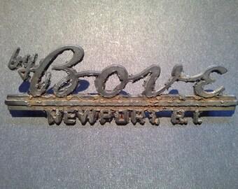 Bove Newport RI Auto Dealer Badge Emblem