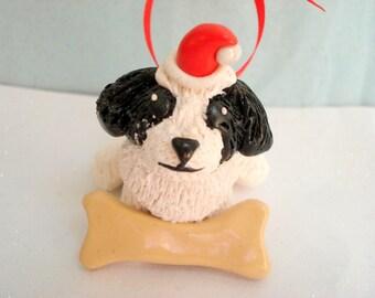 Shih Tzu Ornament Christmas Decoration Dog Christmas Ornaments Pet Gifts Personalized Shih Tzu Decoration