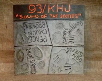 "93/khj - ""Sound of the Sixties"" - 1970 Vintage Vinyl 2 lp Gatefold Record Album"