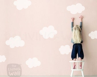 Cloud Nursery Etsy - Nursery wall decals clouds