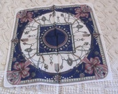 Designer Cotton Hankie Handkerchief - Givenchy - Unused
