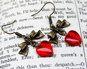 Hearts and Bows Earrings