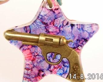 Six Shooter Pendant