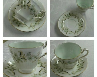 ON SALE- Paragon Cup & Saucer Called Delysia circa 1950  -583
