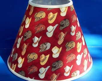 Cowboy Hats Lamp Shade