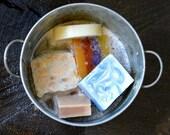 Soap - fine art photo - Handmade Soap - Tin Bucket - Bathroom Wall Art -  8x10