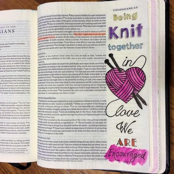 Bible Journaling Coloring Set DIGITAL DOWNLOAD Bible Verse