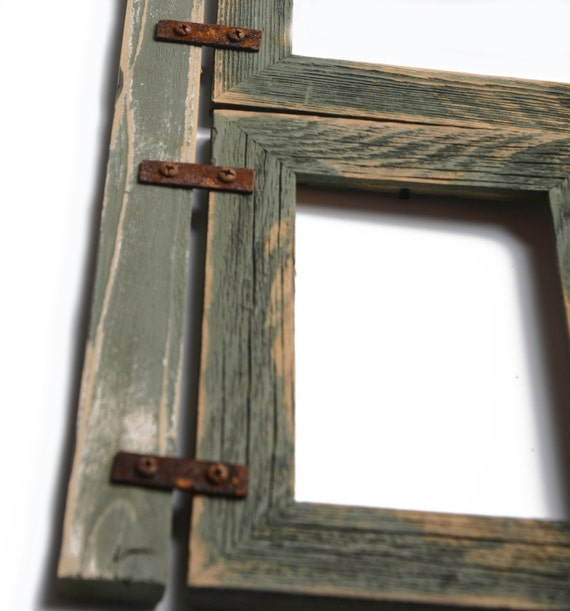 mixed barnwood collage frame 5 hole 4x6 multi opening frame rustic picture frame reclaimed. Black Bedroom Furniture Sets. Home Design Ideas