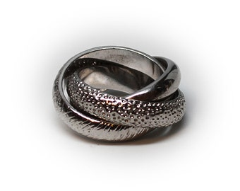 Sterling Silver Lover's Knot Fashion Ring