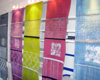 Blockprinted Wall Decorative Panel Multi-Color
