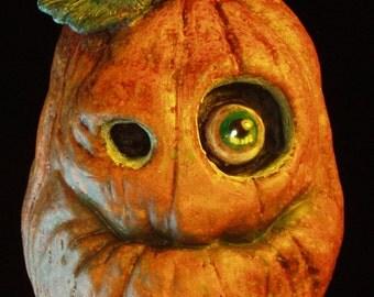 Pumpkin Jack-O-Lantern ornament