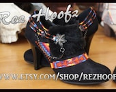 Rez Hoofz Hand Painted Boots size 7.5
