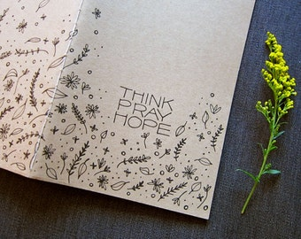 Think Pray Hope Journal