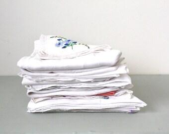Collection of Vintage Handkerchiefs