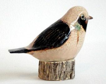 SALE pottery bird