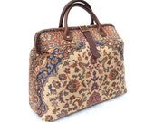 EveryDay / Overnight/ Flight / Carry on Carpet Bag.