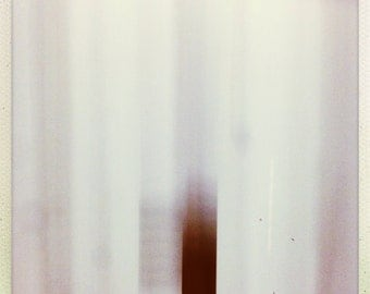 Falling Abstract Motion Blurred Numeral One Art Photograph Print