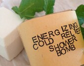Energizing Cold Relief Shower Bomb – Aromatherapy – Steam Therapy - Spa